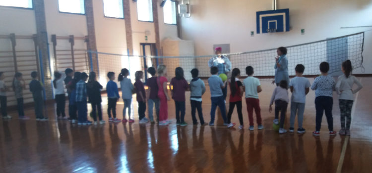 Elpis Volley nelle scuole